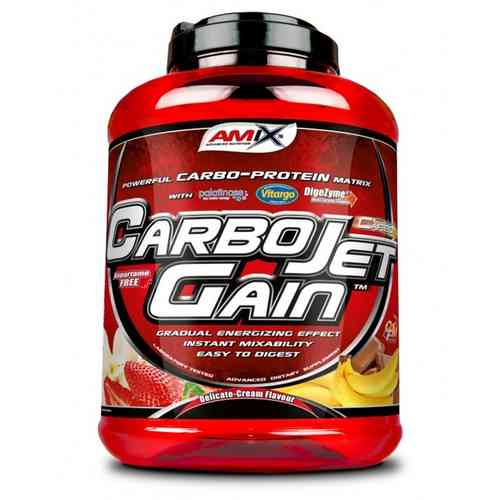 Carbohidratos - Amix Amix™ Carbojet® Gain chocolate 4kg.