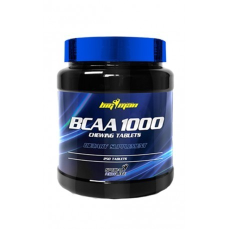 Aminoacids - Big Man BCAA 1000 Chewing Tablets