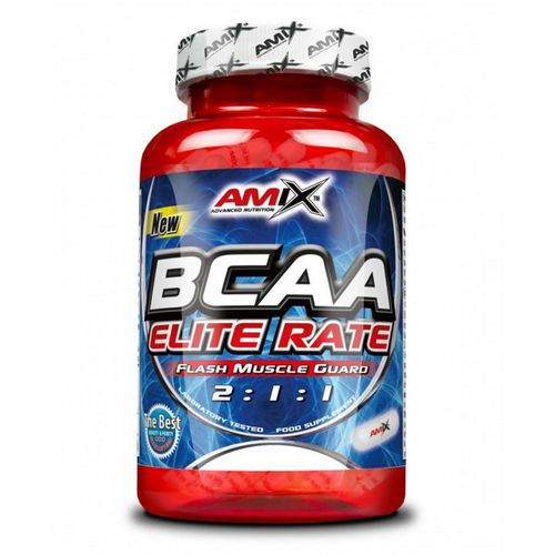 Aminoácidos Amix BCAA Elite Rate 120caps.
