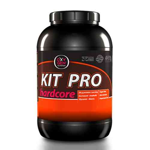 Glucides - Kit Pro Hardcore (3 Kg.)