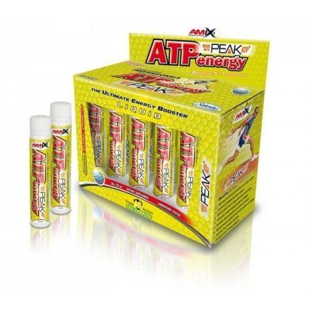 Energéticos - Amix ATP Energy Liquid 10 X 25ml.