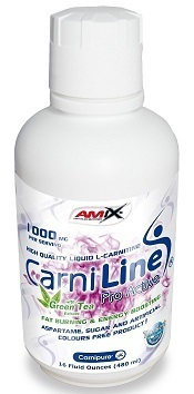 L-Carnitina Amix Carniline® Pro Active 480ml.