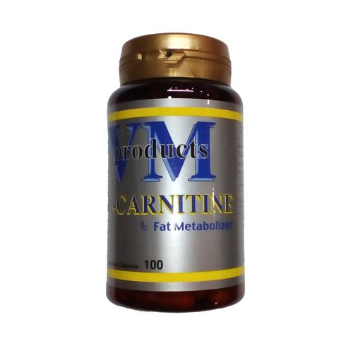 Carnitine - VM Products L-Carnitine 100caps.500mg.