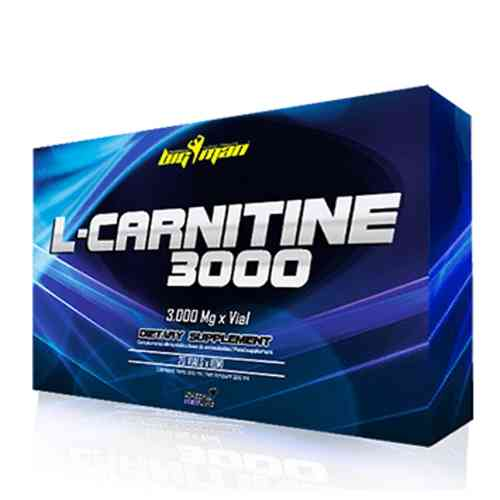 L-Carnitine 3000mg 20x10ml. Big Man