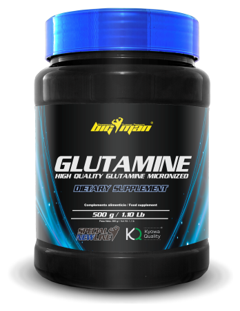 L-Glutamina Big Man Nutrition Glutamina 500gr.