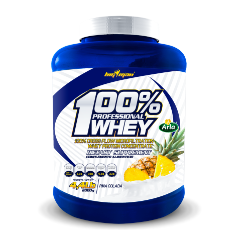 100% Professional Whey Chocolate 2268gr. Big Man