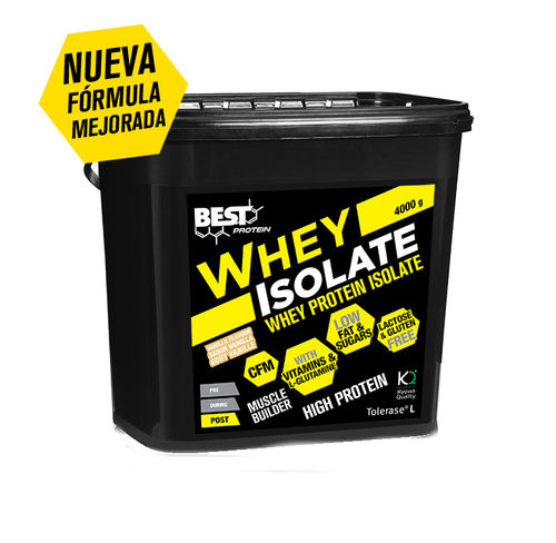 Proteinas Best Protein Whey Isolate  4kg.