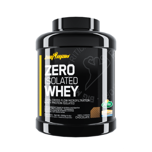Proteins - BigMan Nutrition Zero Whey Protein Isolate 2 kg