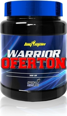 Vasodilatadores Big Man Warrior Pre-Workout