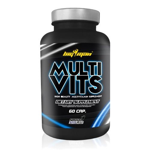 Vitaminas Y Minerales Big Man Nutrition Multi Vits 60 Caps.