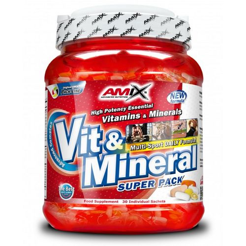 Vitaminas Y Minerales Amix Vit & Mineral Super Pack 30 Packs