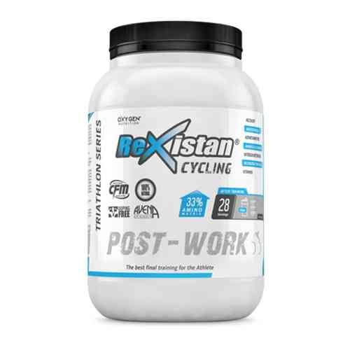 Oxygen Nutrition Rexistan Cycling Post Work Triathlon sabor Vainilla