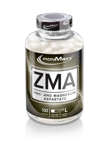 Ironmaxx ZMA 100 caps.