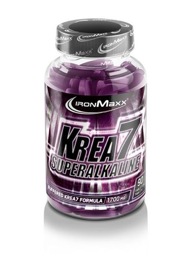 Ironmaxx Krea7 Superalkaline (90 tabletas)