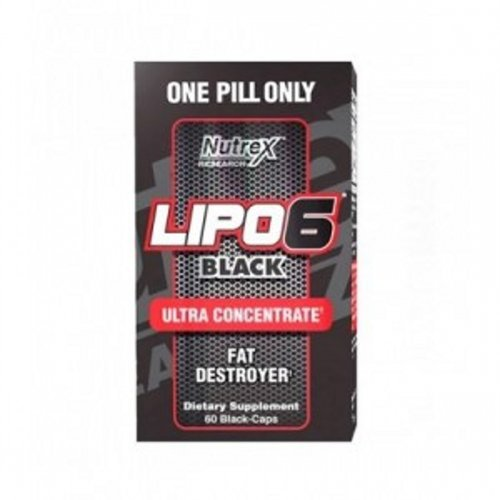 Nutrex Lipo6 Black ULTRA CONCENTRATE 60caps.