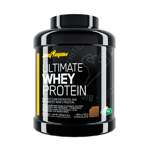 Proteins - BigMan Ultimate Whey Protein 2 kg