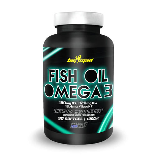 Omega 3 - Big Man Nutrition Fish Oil 90 caps