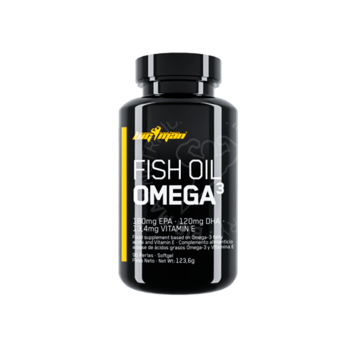 Omega 3 BigMan Nutrition Fish Oil 90 caps