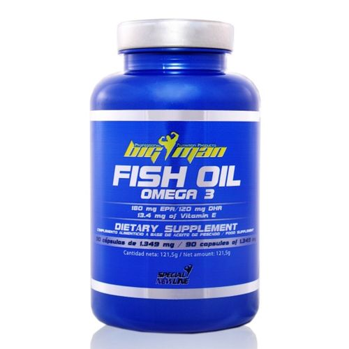 Omega 3 Big Man Fish Oil 90 caps