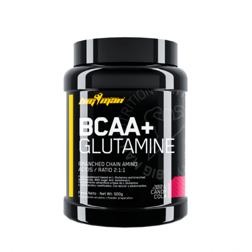 Acides Aminés - Big Man BCAA + Glutamine 500gr