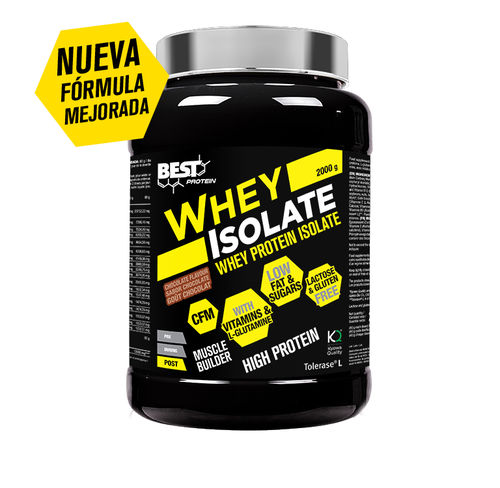 Proteinas Best Protein Whey Isolate 2kg.