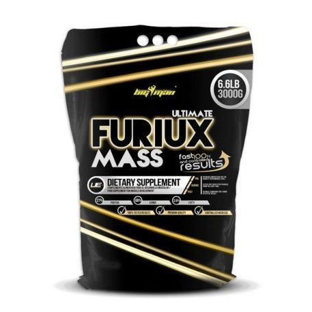 Gainers - Big Man Furiux Mass 3Kg