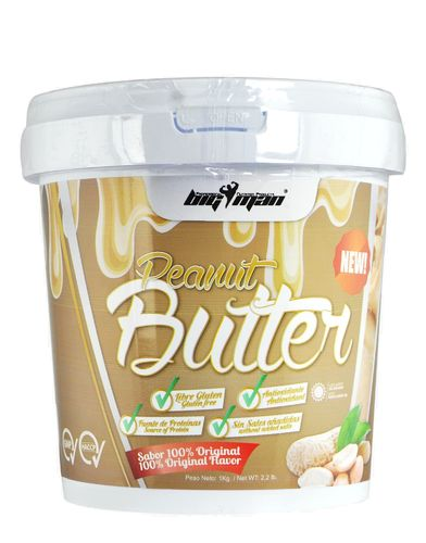 Peanut Big Man Nutrition Peanut Butter 1kg