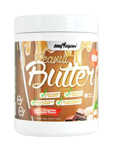 Peanut Big Man Nutrition Peanut Butter 350g with flavor