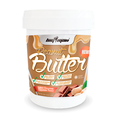 Peanut BigMan Nutrition Peanut Butter 350g with flavor
