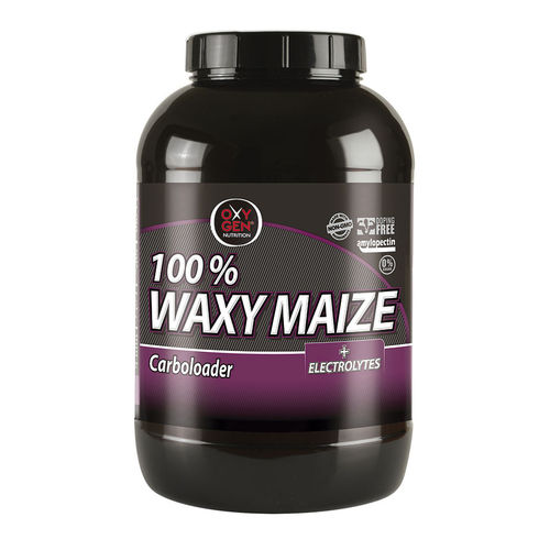 Amilopectinas Oxygen Nutrition 100% Waxy Maize + Electrolitos 2 kg. Sabor Limon Carbohidratos