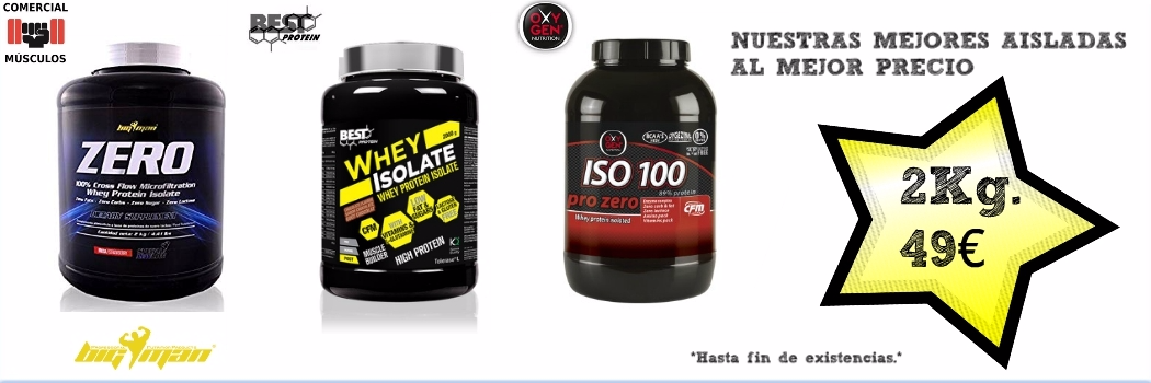491267f10 La tienda de Proteínas y Nutrición Deportiva Comercial Músculos